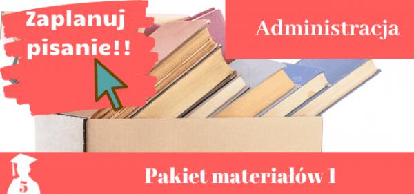 Zaplanuj Pisanie Pracy Dyplomowej Z Administracji