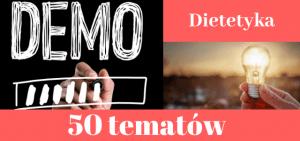 50 przykładowych tematów prac dyplomowych z dietetyki