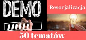 50 przykładowych tematów prac dyplomowych z resocjalizacji