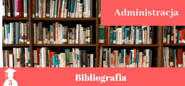 Bibliografia z administracji