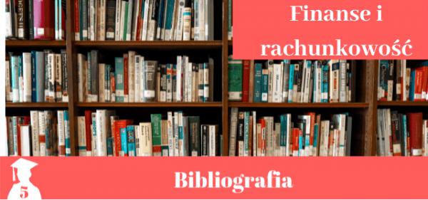 Bibliografia z finansów i rachunkowości