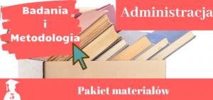 Pakiet badania - administracja