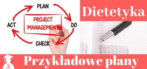 Plany prac licencjackich i magisterskich z dietetyki