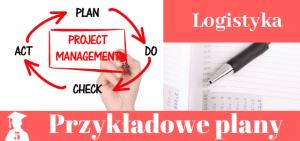 Plany prac licencjackich i magisterskich z logistyki