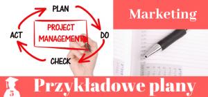 Plany prac licencjackich i magisterskich z marketingu