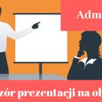 Prezentacja na obronę pracy licencjackiej i magisterskiej z administracji