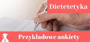 Wzory ankiet > dietetyka