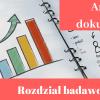 Przykładowy rozdział badawczy analiza dokumentów