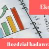 Przykładowy rozdział badawczy z ekonomii