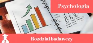 Przykładowy rozdział badawczy z psychologii