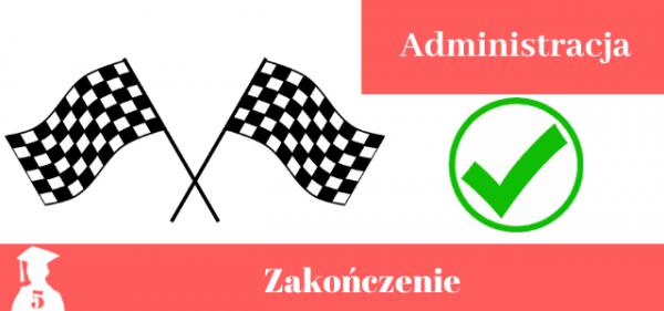 Przykładowe zakończenie do pracy licencjackiej i magisterskiej z administracji